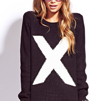 Menswear-Inspired X Sweater