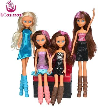 Monster Doll 30CM Heigh Quality Doll Different Style Fashion Doll Toys birthday gift for barbie diy doll accessories