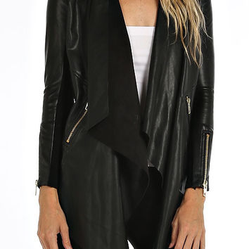 Across the Country Biker Jacket