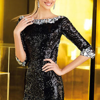 Prom Dresses 2014 - Alyce Prom 4345 Long Sleeves