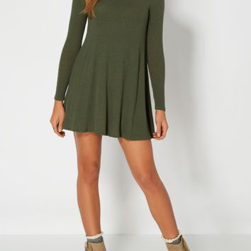 Mock Neck Swing Dress | Mini Dresses | rue21