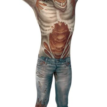 Mighty Morphin power rangers Zombie Adult Medium Costume
