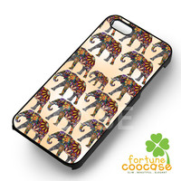 elephant ornate tile pattern and baby-N41yh for iPhone 4/4S/5/5S/5C/6/ 6+,samsung S3/S4/S5,S6 Regular,S6 edge,samsung note 3/4