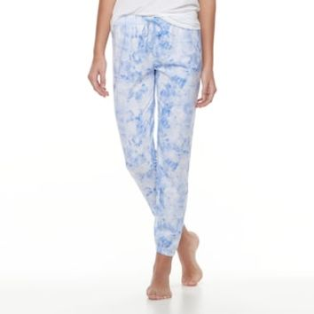 Juniors' SO® Printed Jogger Pajama Pants | null