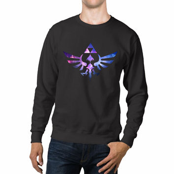 Nintendo Legend Of Zelda Triforce Nebula Unisex Sweaters - 54R Sweater
