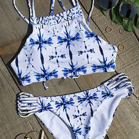 Cupshe Field Day Printing Bikini Set
