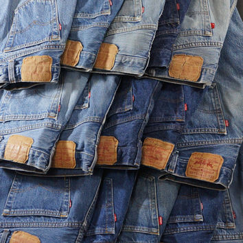 "Vintage 80s-90s Levis 501/501xx Jeans: Fair Vintage Condition Choose your size from 26"" Waist to 37"" Waist"