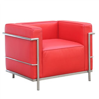 Grand LC3 Chair in Red
