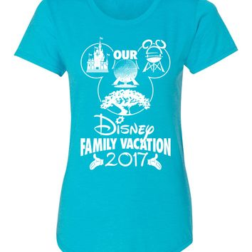 Our Disney Family Vacation 2018 Ladies Tee
