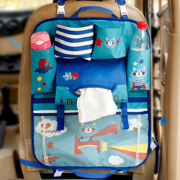 SMDPPWDBB Multifunctional Waterproof Universal Baby Stroller Bag Organizer Baby Car Hanging Basket Storage Stroller Accessories