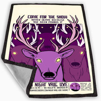Good Night Night Vale Blanket for Kids Blanket, Fleece Blanket Cute and Awesome Blanket for your bedding, Blanket fleece *