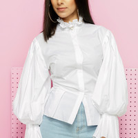 DREAM PEPLUM BLOUSE