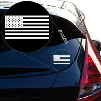American Flag United States Decal Sticker for Car Window