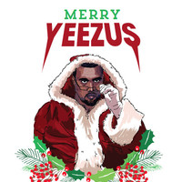 Kanye West Christmas Card - 'Merry Yeezus'