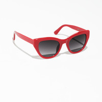 Cat Eye Sunglasses - Red - Sunglasses - & Other Stories US