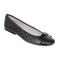 Passport Quilted Ballet Flats