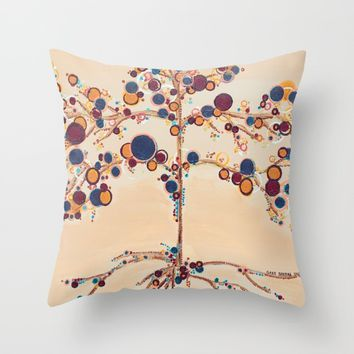 :: Family Tree :: Throw Pillow by :: GaleStorm Artworks ::