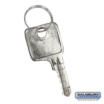 Salsbury Industries Master Control Key - for Combination Padlock of Metal Locker
