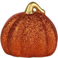 Bulk Mini Glitter Pumpkin Decorations at DollarTree.com