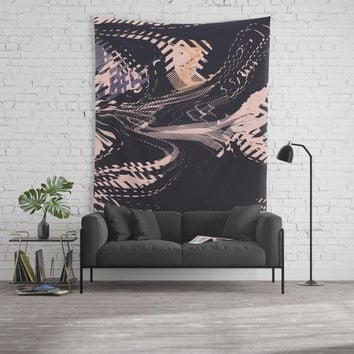 Static Wall Tapestry by duckyb