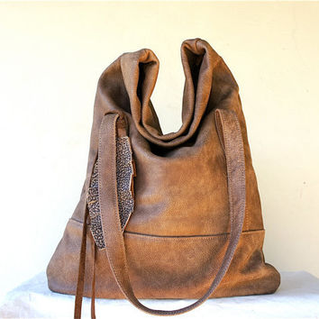 Luella in Toasted Brown Leather