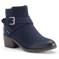 SONOMA life + style Women's Buckle Ankle Boots