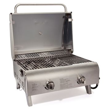 Cuisinart-Chefs Style Stainless Tabletop Gas Grill