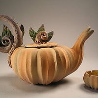 Cinderella's Midnight Tea: Nancy Y. Adams: Ceramic Teapot - Artful Home