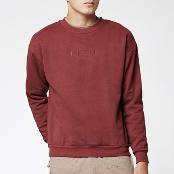 Civil Embroidered Crew Neck Sweatshirt at PacSun.com