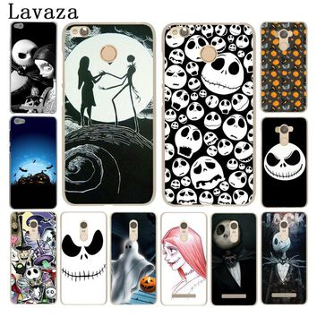 Nightmare Before Christmas halloween Hard Phone Case for Xiaomi Redmi 4A S2 6 5 Plus Note 5 3 3S 4  Pro 4X 5A Prime Cover