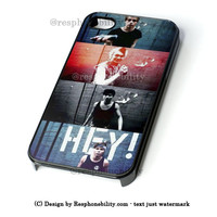 5Sos She Looks So Perfect Minions iPhone 4 4S 5 5S 5C 6 6 Plus , iPod 4 5  , Samsung Galaxy S3 S4 S5 Note 3 Note 4 , and HTC One X M7 M8 Case