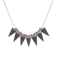 Spike A Pose Glam Necklace | Wet Seal