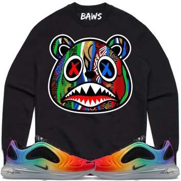 SWEATER BAWS Crewneck Sweater - Nike Air Max 720 Be True