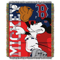 Boston Red Sox MLB Mickey Tapestry Throw (48?x 60?)