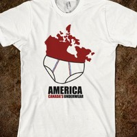 American, Canada's Underwear - Tee Time Baby