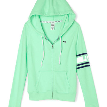 Perfect Zip Hoodie - PINK - Victoria's from VS PINK | Quick