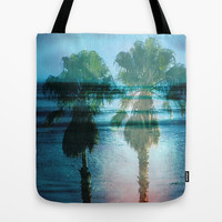 Tropical Dreams Tote Bag by Shawn King