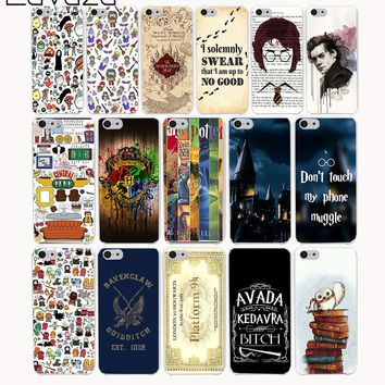 Lavaza 259CA Pretty interesting Harry Potter Hard Case Cover for iPhone 8 X 7 7 plus 4 4s 10 5 5s 5c SE 6 6s Plus case