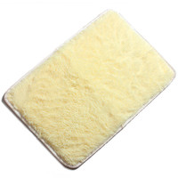 40x60cm Chenille Solid Color Absorbent Non-slid Floor Mat Bedroom Kitchen Bathroom Door Rug
