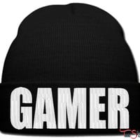 GAMER_PXF beanie knit hat