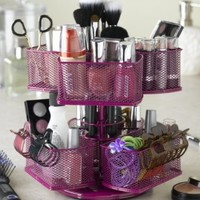 Nifty Home Products Make-Up Carousel