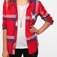 BDG Flannel Button-Down Shirt