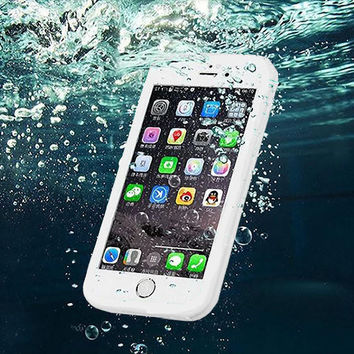 Dustproof Underwater Diving Waterproof 360 Full Cover iPhone  5Se 5S 6 6S 6 Plus 4.7 5.5 inch Protective Case