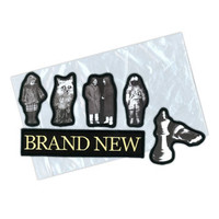 Album Collection Die Cut 6 PC Iron On by Brand New