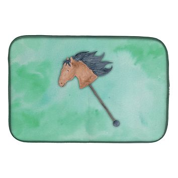 Stick Horse Watercolor Dish Drying Mat BB7366DDM