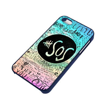 5 SECONDS OF SUMMER 3 5SOS iPhone 4 / 4S Case