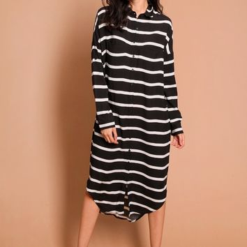 Better Off Striped Dress | Threadsence