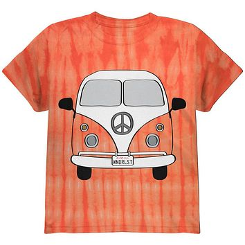 Halloween Travel Bus Costume Camper Wanderlust Youth T Shirt