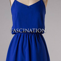 Island Ferry Dress - Blue