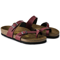 Mayari Birko-Flor Pull Up Bordeaux | shop online at BIRKENSTOCK